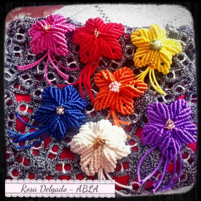 Manualidades con flores de Rosa Delgado